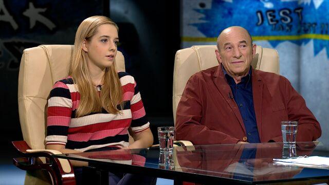 Magdalena Petrow-Ganew i dr Leszek Mellibruda w Tak Jest