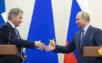 Władimir Putin z wizytą w Finlandii