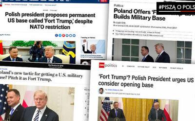 Amerykańskie media o wizycie Dudy w Waszyngtonie