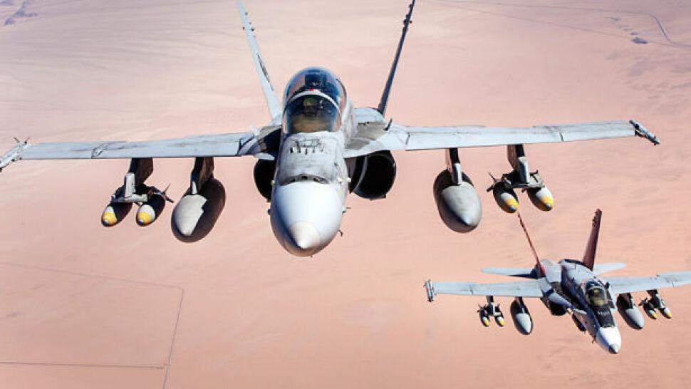 Atak samolotów USA, zginęło 18 ekstremistów