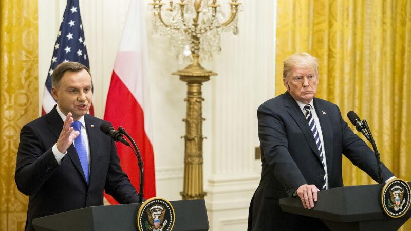 """Andrzej Duda o bazie """"Fort Trump"""""""
