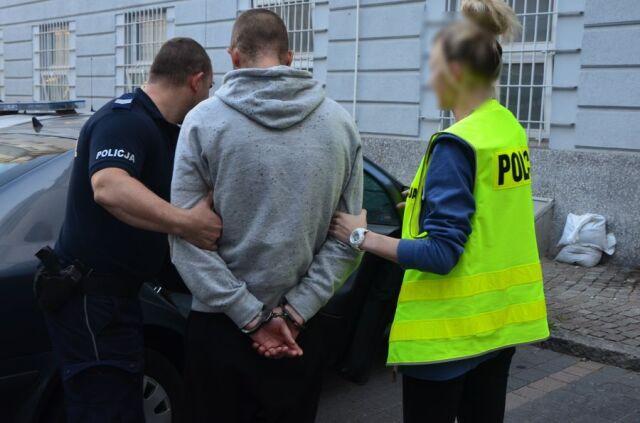 Wybita szyba w synagodze. 27-latek aresztowany