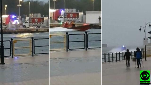 Akcja ratunkowa na Bałtyku