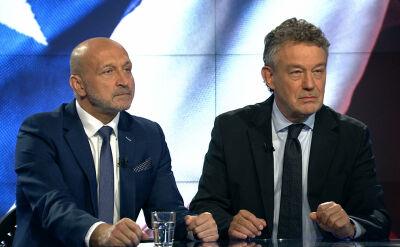 """Kazimierz Marcinkiewicz i Ryszard Schnepf w """"Faktach po Faktach"""""""