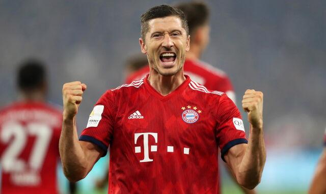 Lewandowski dobił Schalke
