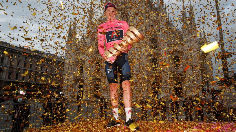 Tao Geoghegan Hart zwycięzcą Giro. Niezapomniany finał w Mediolanie