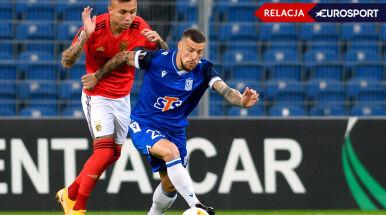 Lech - Benfica w Lidze Europy [RELACJA]