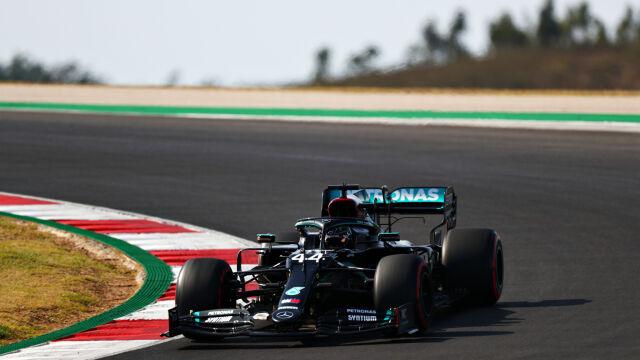 Ułamek sekundy zdecydował. Hamilton z pole position