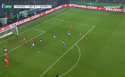 Bayern otworzył wynik starcia z Schalke, gol Kimmicha