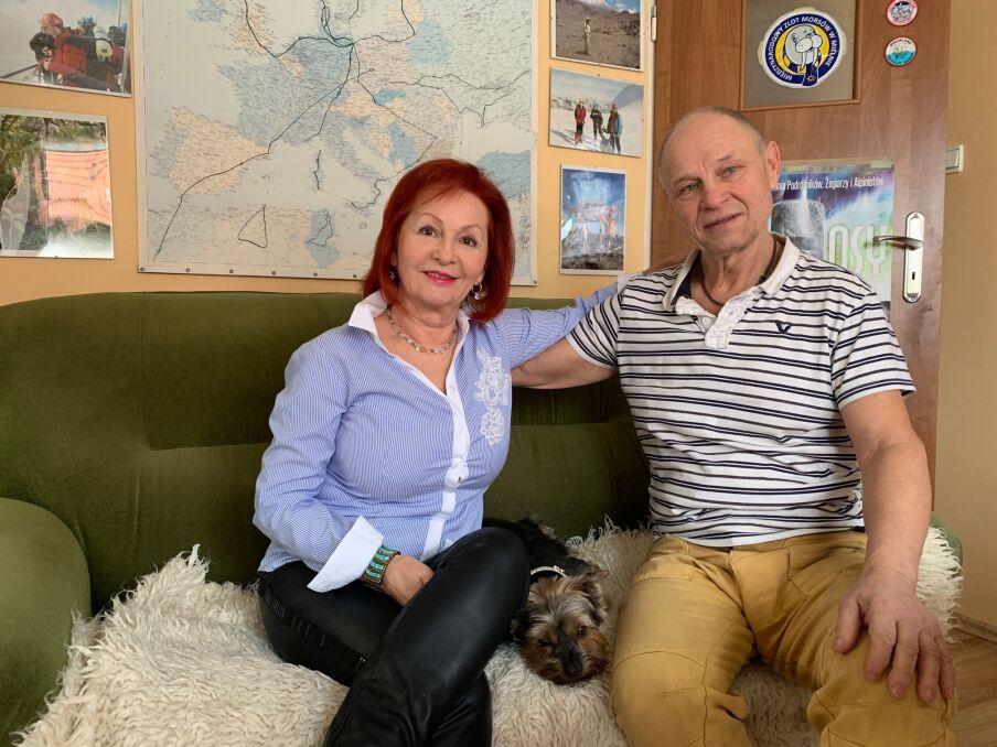 Jadwiga i Ryszard Tunkiewiczowie
