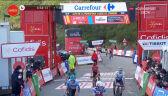 Finisz grupki lidera na 11. etapie Vuelta a Espana