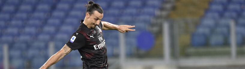 """Ibrahimović zapowiada odejście z Milanu. """"Nie jest piłkarzem na Ligę Europy"""""""