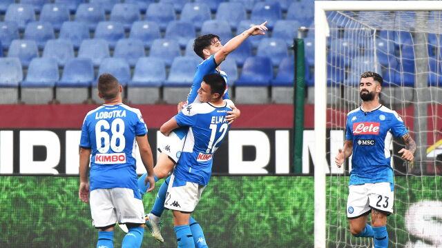 Milik zły na kolegę. Mógł strzelić gola, nie pomógł w triumfie Napoli