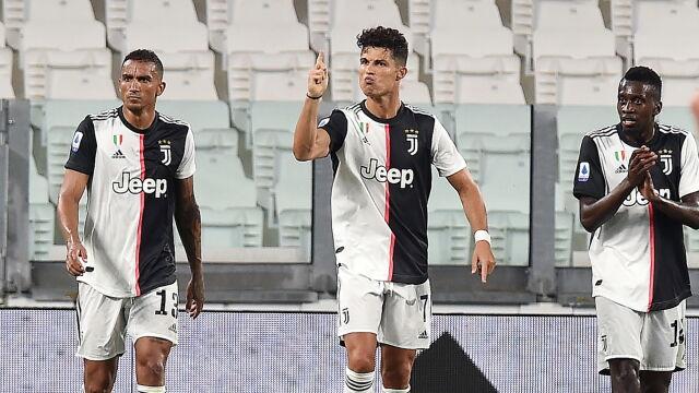 Trener Juventusu: Ronaldo po mistrzowsku radzi sobie z presją