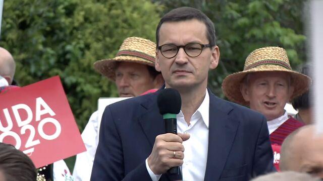 Mateusz Morawiecki w Chełmie