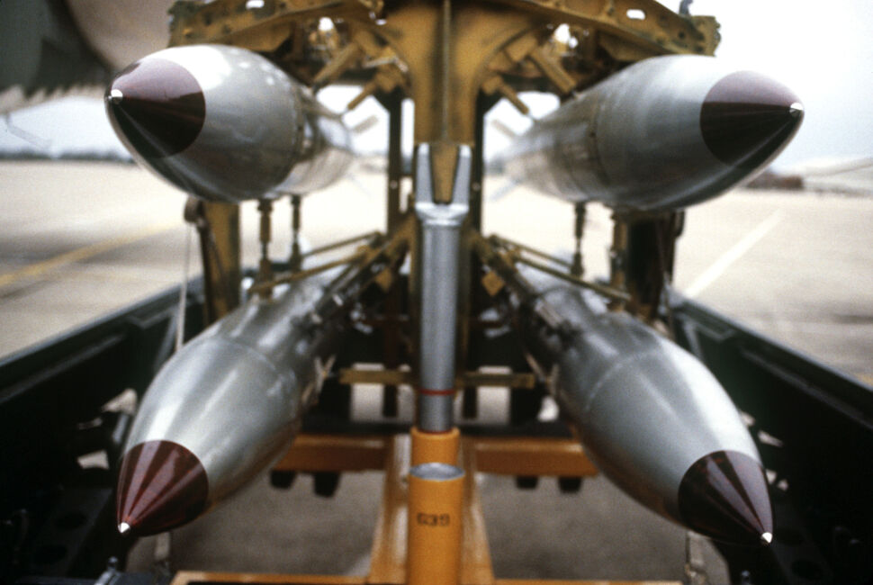 Obama modernizuje bomby nuklearne w Europie