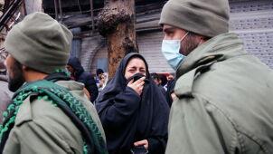 Na ulicach ginęli ludzie. Prezydent Iranu mówi o