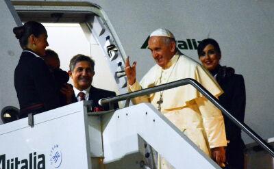Papież Franciszek przybył do Tajlandii