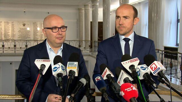 Budka: będziemy żądać od PiS wycofania dwóch kandydatur do KRS