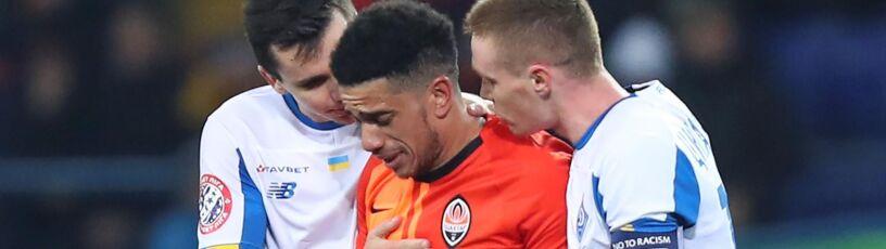 Posypały się kary za rasistowski incydent w Kijowie. Obrażany piłkarz zawieszony