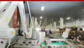 Szwajcarskie roboty na zdjęciu z Kim Dzong Unem