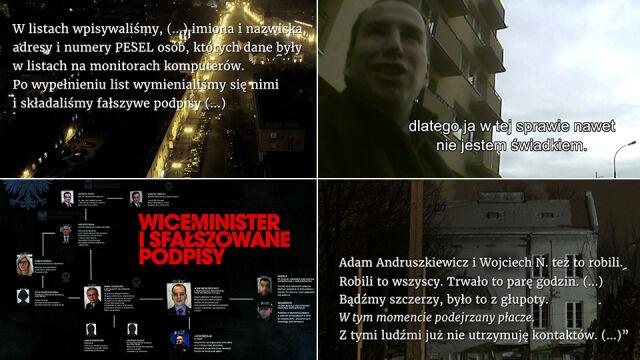 Wiceminister i sfałszowane podpisy. Zablokowane śledztwo w sprawie Andruszkiewicza