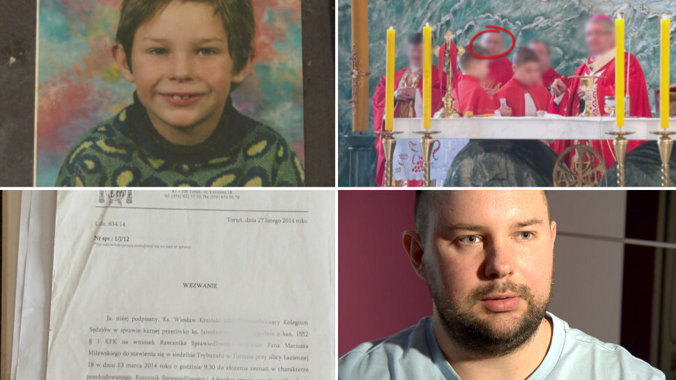 Dziewięć lat koszmaru. Wstrząsająca historia ofiary księdza pedofila