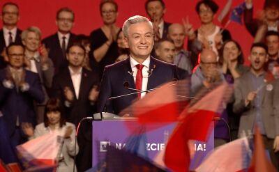 Biedroń zaprezentował nową partię