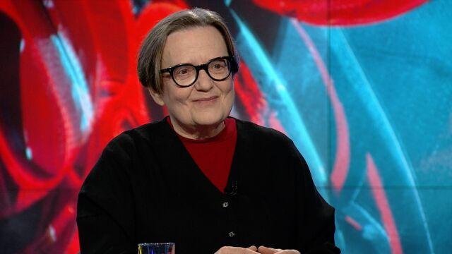 "Agnieszka Holland w ""Faktach po Faktach"""