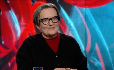 """Agnieszka Holland w """"Faktach po Faktach"""". Cała rozmowa"""