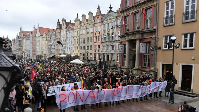 March for tolerance went through the streets of Gdańsk on Wednesday
