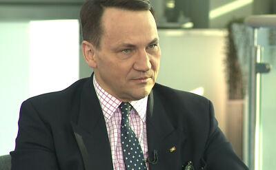 Radosław Sikorski o konferencji bliskowschodniej