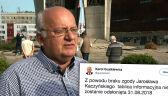 """""""Brak zgody Jarosława Kaczyńskiego"""". Tablica nie zostanie odsłonięta"""