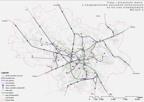 Trzeci wariant wrocławskiego metra