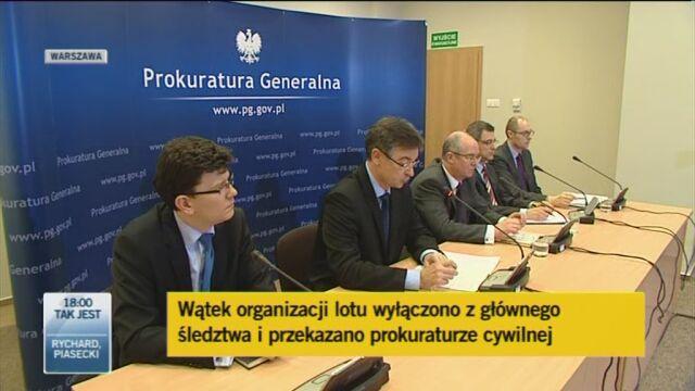 Konferencja prokuratorów, część 2 (TVN24)