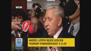 Andrzej Lepper komentuje decyzję sądu apelacyjnego