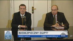 MSZ o sytuacji w Egipcie (TVN24)