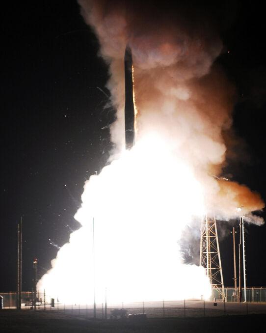 Start amerykańskiej międzykontynentalnej rakiety balistycznej - Minuteman III