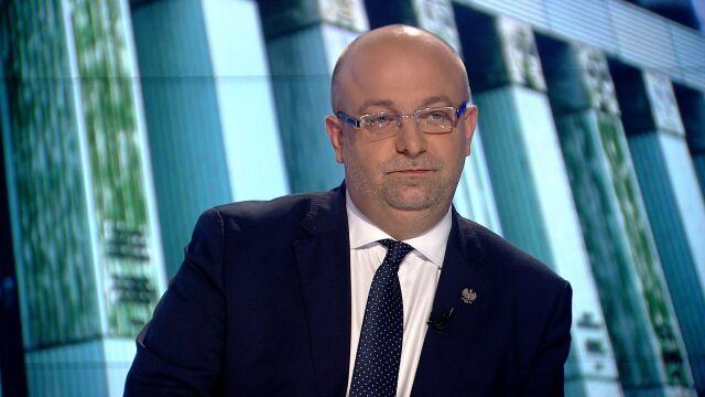 """Łukasz Piebiak był gościem """"Faktów po Faktach"""""""
