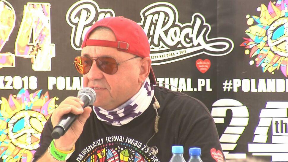"""Pol'and'Rock """"to nie mecz piłki nożnej"""". Owsiak chce zmian w prawie"""