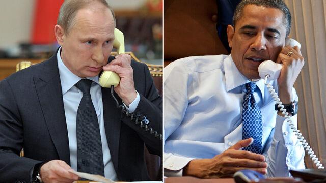 Obama na linii z Putinem. Pierwsza rozmowa od zestrzelenia samolotu