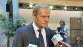Donald Tusk podsumowuje obsadzenie unijnych stanowisk