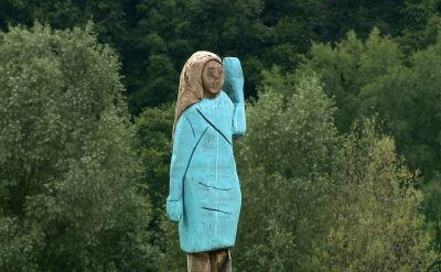 Melania Trump uwieczniona na rzeźbie