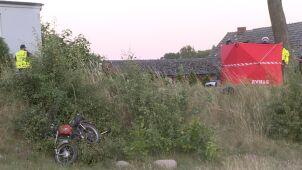 Zderzenie motoroweru z autem. Zginął 17-latek