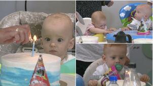 Szczecińskie czworaczki świętowały swoje pierwsze urodziny