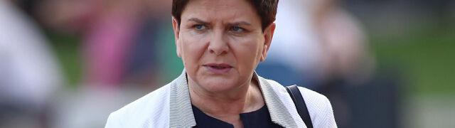 Morawiecki rozmawiał z Merkel o porażce Szydło.