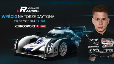 Wirtualny wyścig na słynnym torze Daytona na żywo w Eurosporcie 1