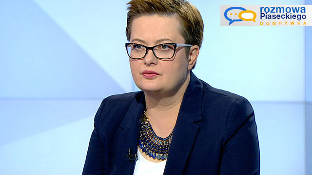 """Katarzyna Lubnauer w dogrywce """"Rozmowy Piaseckiego"""""""