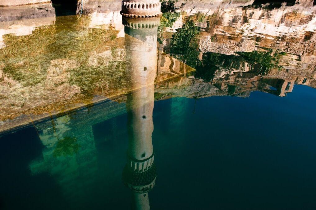Zatopione miasto Halfeti, prowincja Şanlıurfa