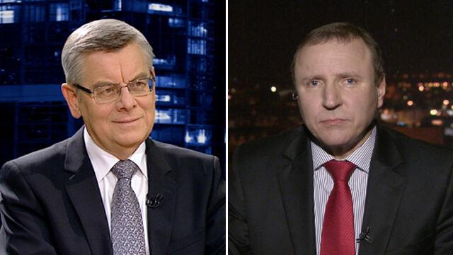 """Tomasz Nałęcz i Jacek Kurski w """"Kropce nad i"""""""